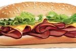 Yumbo Hot Ham & Cheese Sandwich