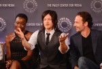 Norman Reedus with cast members during the 2nd Annual Paleyfest New York Presents: