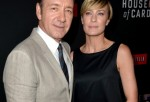 Kevin Spacey and Robin Wright at the Special Screening Of Netflix's