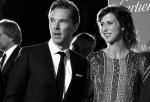 Benedict Cumberbatch and Sophie Hunter at the  Annual Palm Springs International Film Festival