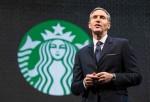 Starbucks CEO Howard Schultz.