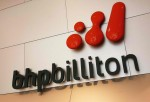MELBOURNE, AUSTRALIA - FEBRUARY 15: The BHP Billiton logo is seen at the BHP Billiton Centre February 15, 2006 in Melbourne, Australia.
