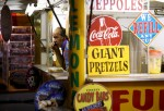 DES MOINES, IA - AUGUST 13: A food vendor waits for customers during the Iowa State Fair on August 13, 2015 in Des Moines, Iowa.