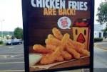 Burger King' Chicken Fries