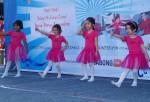 Children of Kinderdance India in a dance recital