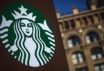 Starbucks Store Sign in New York